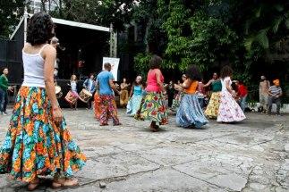 Apresentação Oficina de Danças Brasileiras no 8º Heranças Africanas - Ilú Obá de Min na Funarte SP