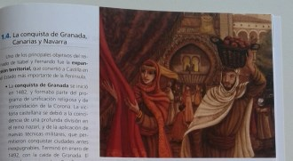 Libro de texto de historia, 2º de la ESO.