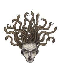 La cabeza de Medusa
