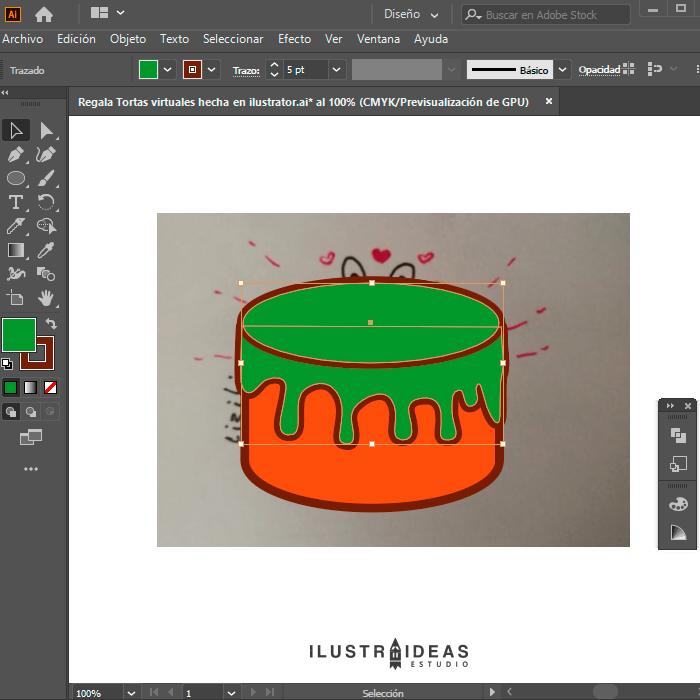 Ilustrando en ilustrator