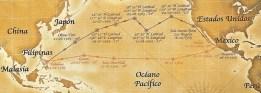 urdaneta, derrota urdaneta, legazpi,Ilustres marinos historia naval, españa armada, marina, expediciones, conquista.