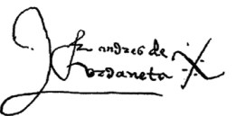 Autografía de Urdaneta