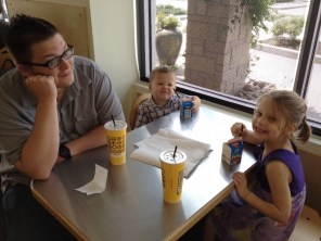 Lunch with Daddy