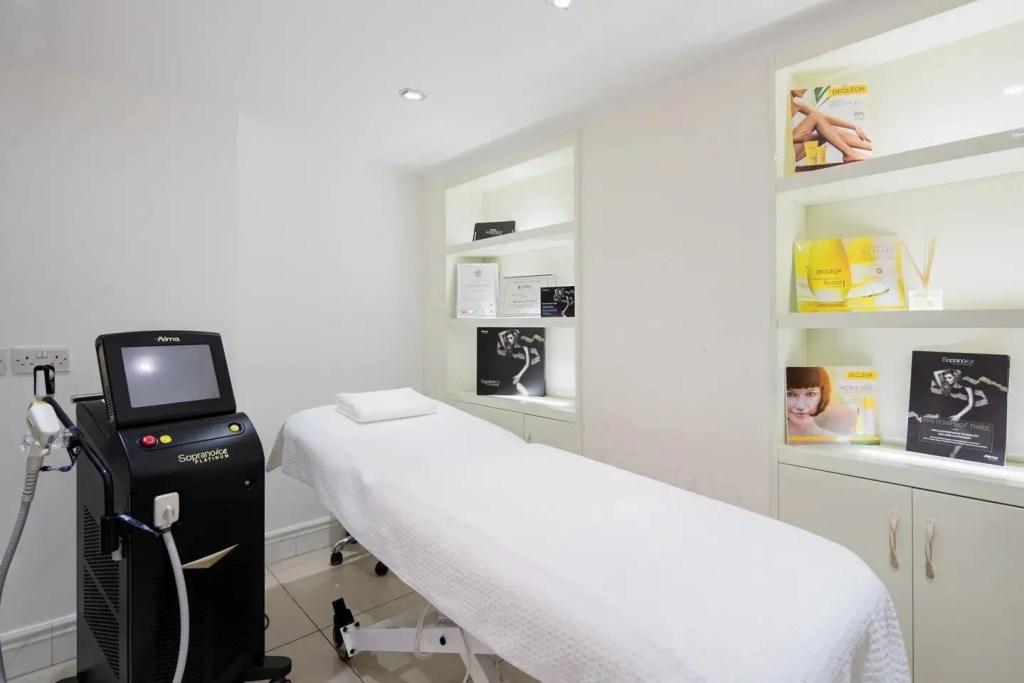 iLuvo Laser Treatment Room