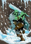 Orc Ice Club - Conflicting Kingdoms CCG