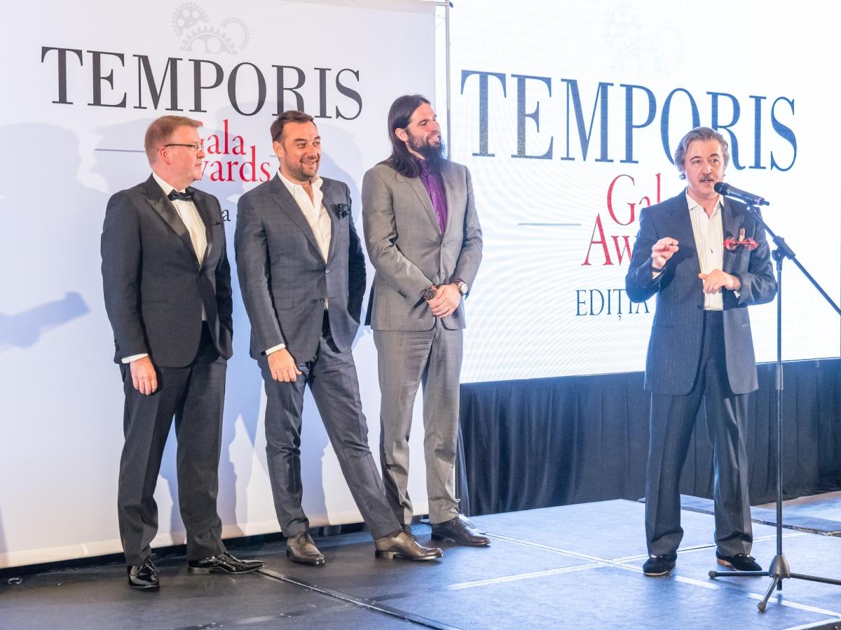 Úvodní slovo vyhlašování Temporis Gala Awards měl jako obvykle organizátor Dan Vardie