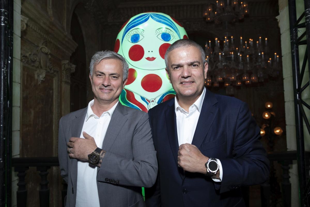 José Mourinho and Ricardo Guadalupe
