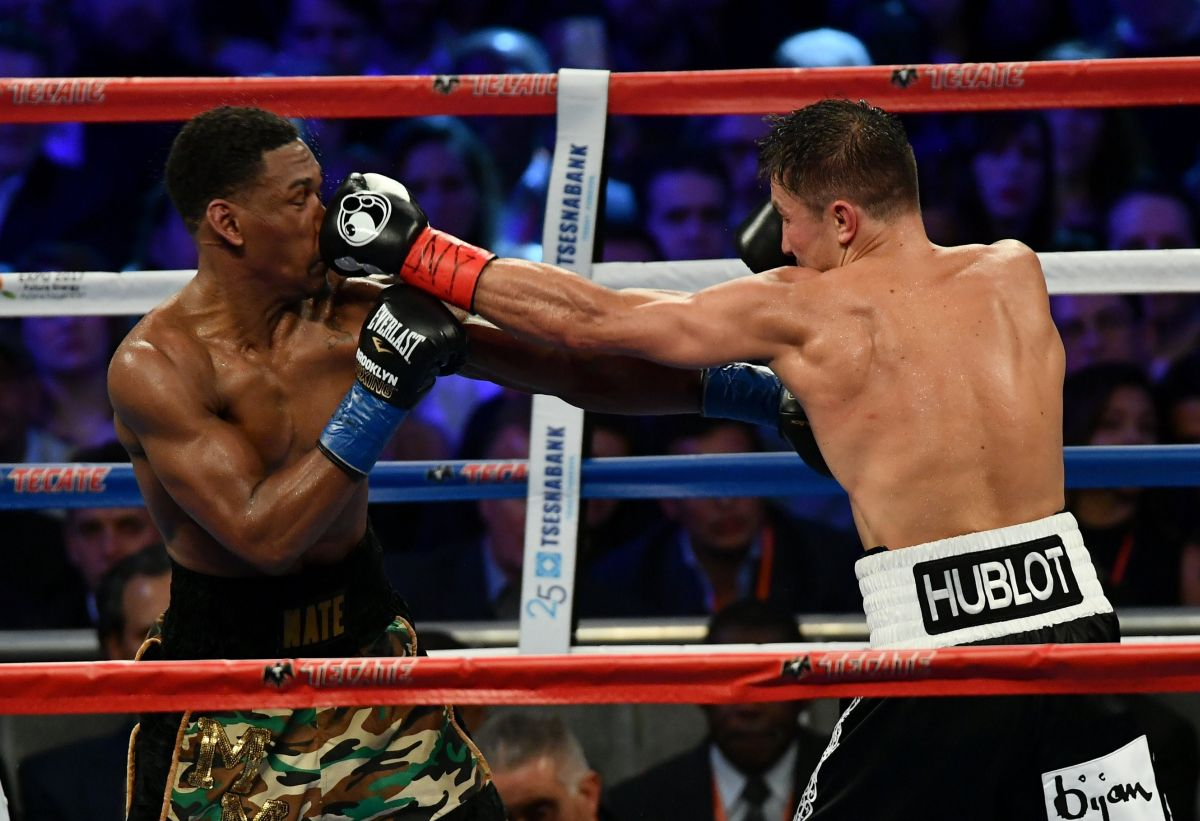 """Daniel """"The Miracle Man"""" Jacobs and Gennady Golovkin"""