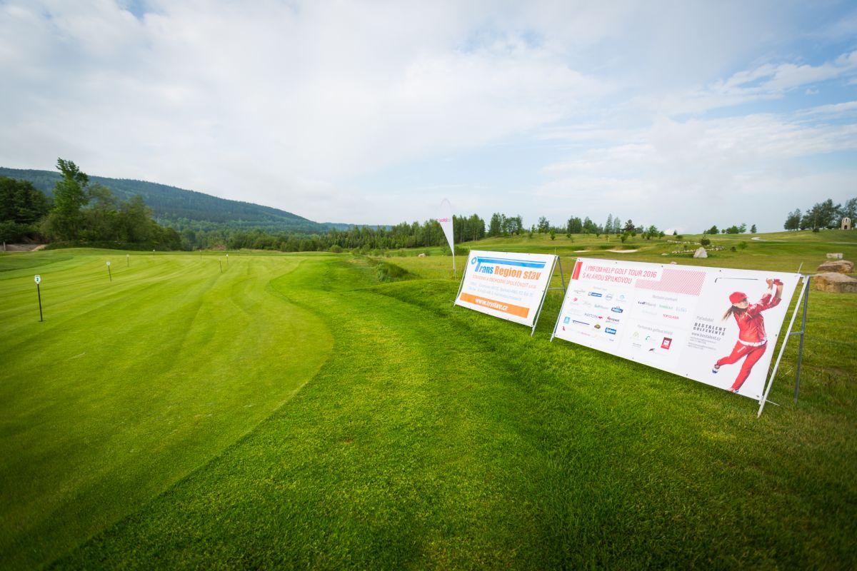 Lymfom Help Golf Tour s Klárou Spilkovou v Golf Resortu Sokolov