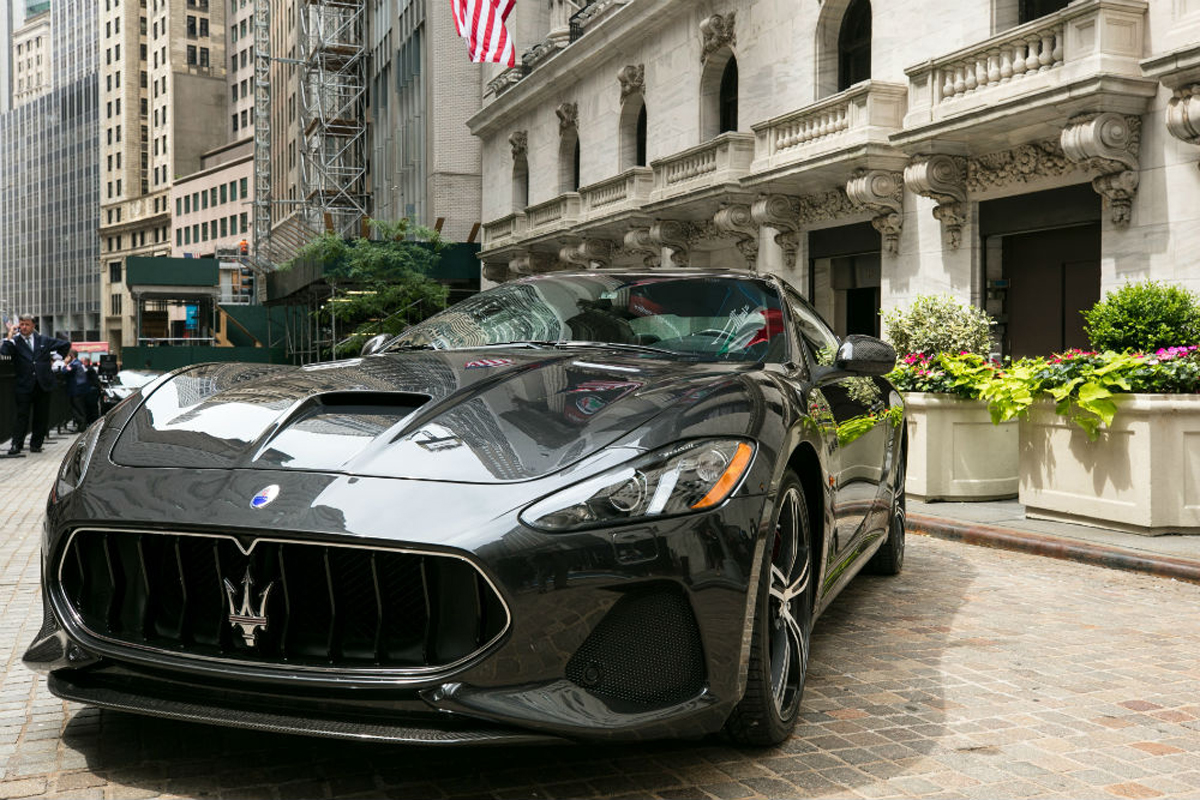 Maserati GranTurismo MC MY18 at New York Stock Exchange_2017_1