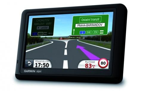 """Garmin nüvi 1490T Lifetime – 5"""" navigace s bezplatnou doživotní aktualizací map Evropy, 4 990 Kč"""