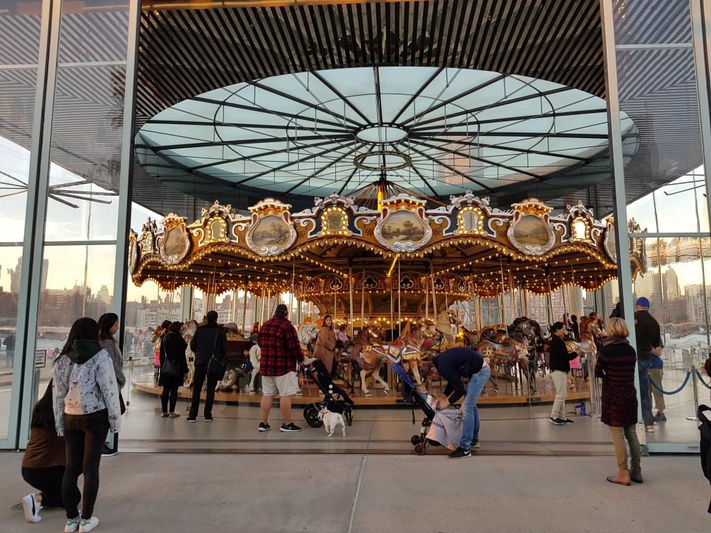 Jane's Carousel, la giostra dei cavalli di Brooklyn