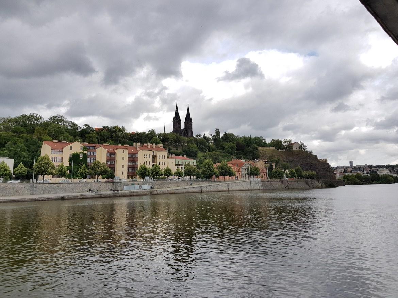 La fortezza di Vyšehrad a Praga