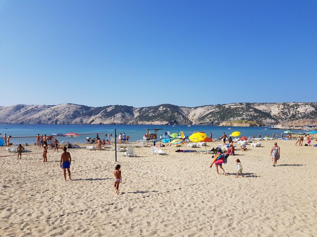 Rab, le spiagge più belle. La spiaggia Livacina