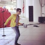 """Gianluca, """"MIAMI!!! Are you ready for tonight????!!!"""""""