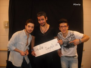 From the Vienna Va. Concert M&G