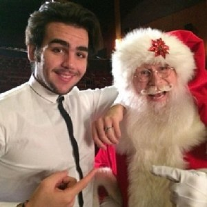 ignazio and santa smaller