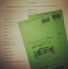 @letiziamastrofini; Athina via LiJoy The play list, tickets for the Christmas Concert Italian Senate Rome 2014