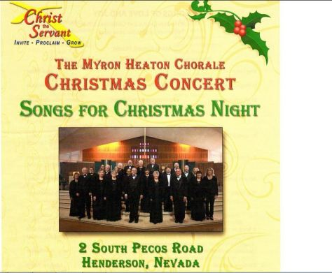 s - jeanette  Myron's Chorale