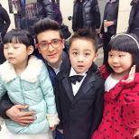 Piero and the kids