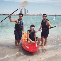 Il Volo Facebook; Il Volo we need two more Kyacks. Fun! Abu Dhabi - 2015