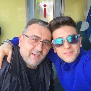 p - piero and dad