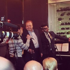 @unstoppableangieny - Il Volo with Paul Sorvino - La Cirque Café NYC April 2015