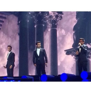 Il Volo Facebook Second Rehearsal - Eurovision - Vienna - 2015