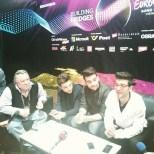 @ogaeslovakia Eurovision interview - Vienna - 2015