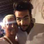 @CarolynSmith51 Ignazio and Carol - from dancing with the stars - Marostica -0 2015