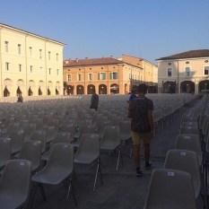 @divileo15 Mamma Ginoble Instagram Piazza Garibaldi - Cervia, Italy concert venue - 2015