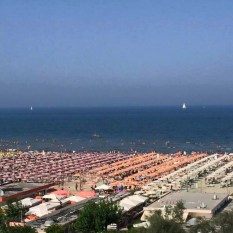 from Piero; All Things Il Volo Cervia by the sea - the beach views - 2015