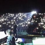Davide Trevisan sold out - view of crowd - Torre del Lago - August 12-13, 2015