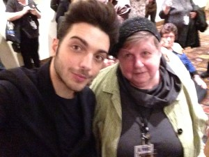 Lousy picture of me and ignazio
