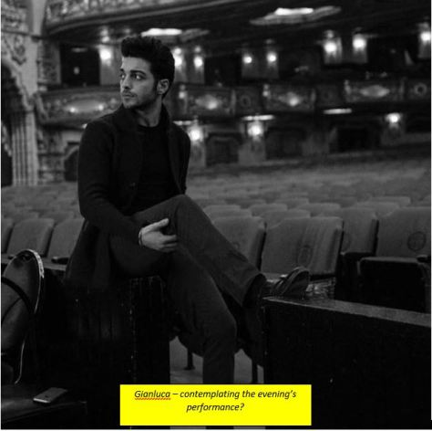 Gian - LA - Contemplating the night's performance