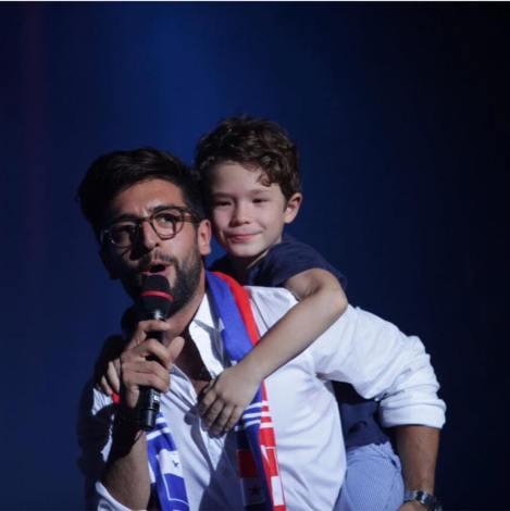 Notte Magica Tour - Piero and fan Panama Concert - 9/15/17
