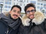 image Piero and Franz - St. Moritz - 12/28/17