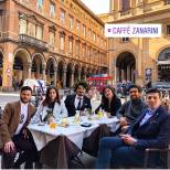 @barone_piero2 Lunch in Balogna 3/14/18 Francesco graduates with Doctorate Degree 3/14/18