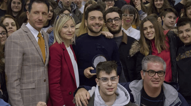 GIANLUCA MEETS THE STUDENTS by Daniela
