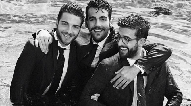 IL VOLO in Black and White by Daniela