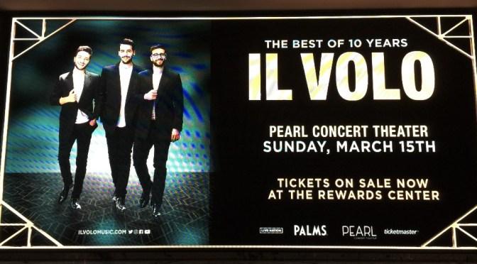 Il Volo's Viva Las Vegas (Almost) By Giovanna