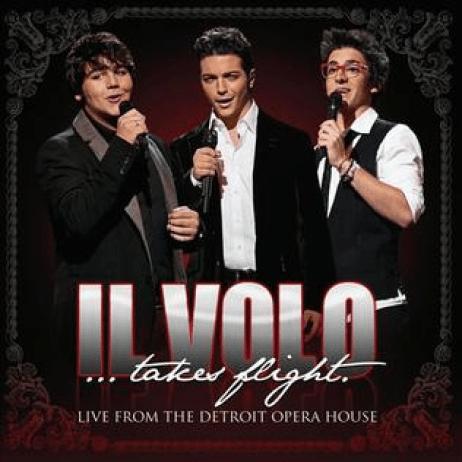 IL VOLO album cover for IL VOLO Takes Flight