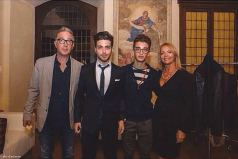 The Ginoble Family: Ercole, Gianluca, Ernie and Eleonora