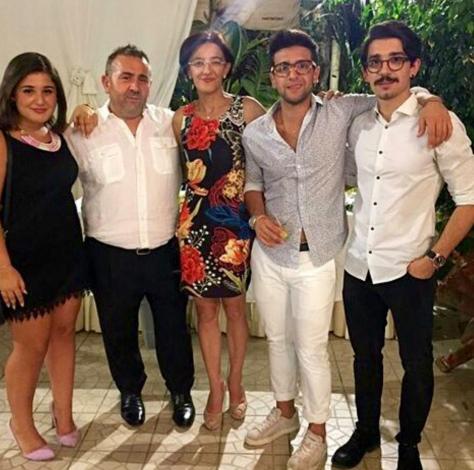 The Barone Family: Mariagrazia, Gaetano, Eleonora, Piero and Francesco