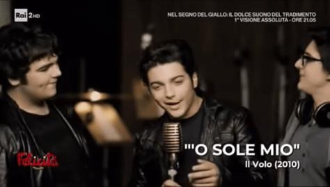 IL VOLO singing O Sole Mio