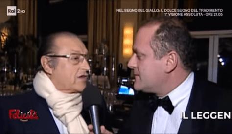 Tony Renis being interviewed