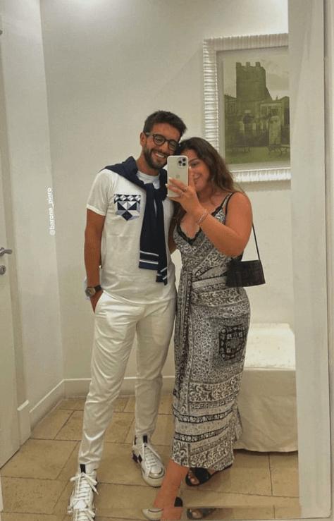 PIero selfie with sister, Maria Grazia
