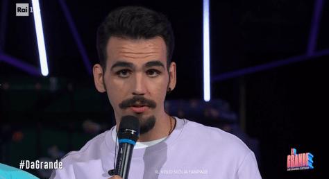 Ignazio speaking on stage