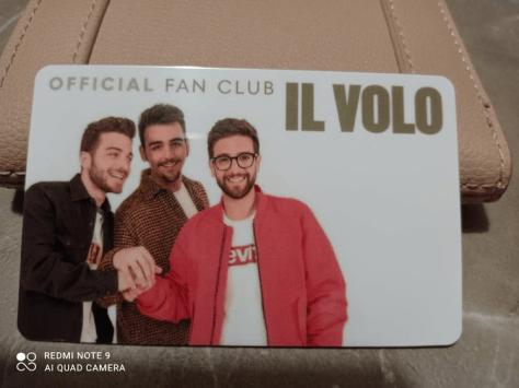 IL VOLO membership card