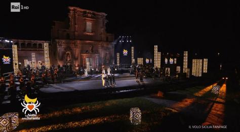 View of La Notte della Taranta stage